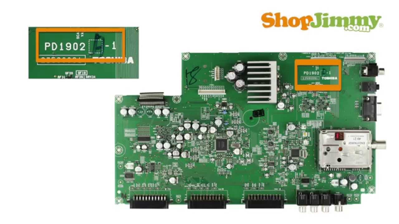 medium resolution of tv part number identification guide for toshiba main scaler boards lcd led plasma tvs youtube