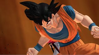 Goku, Luffy, and Kenshin in J-Stars Victory VS Gameplay