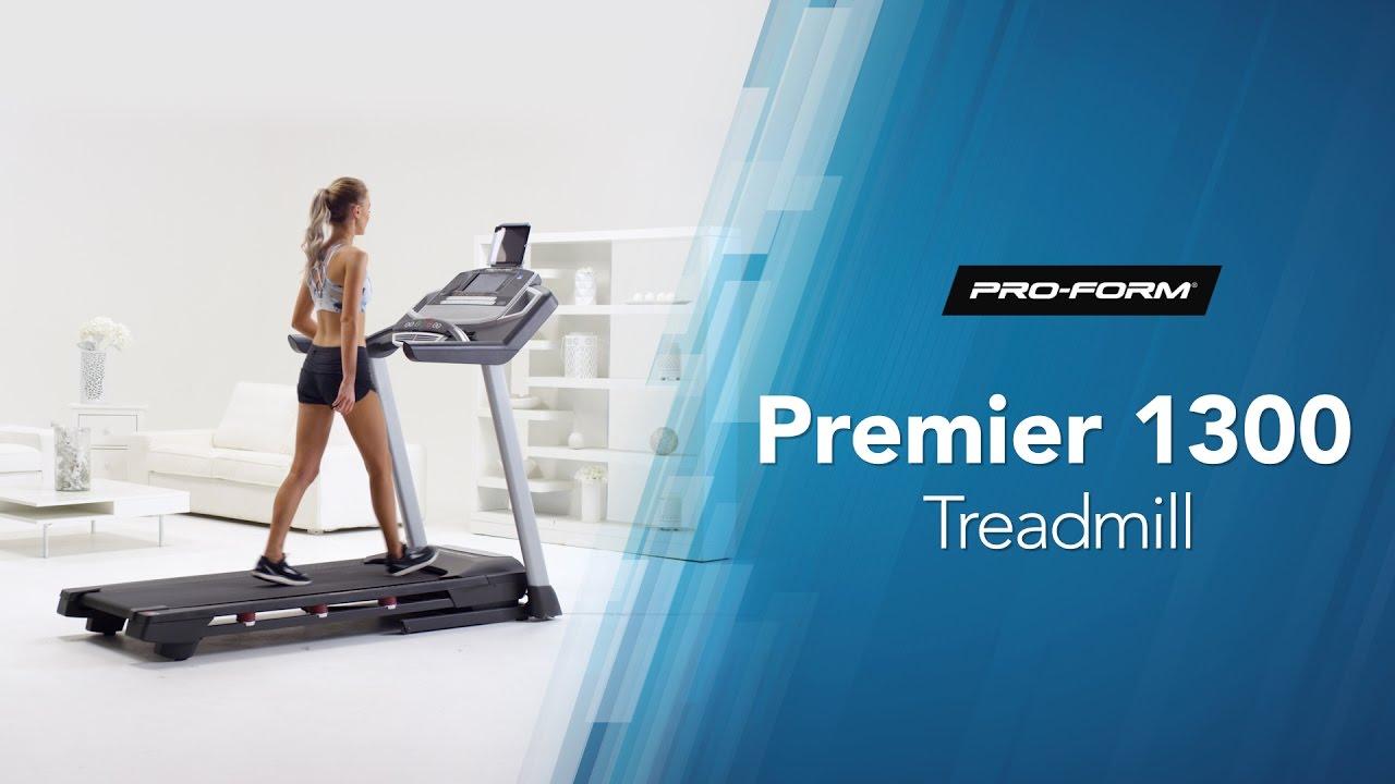 Premier 1300 Treadmill By Proform Youtube