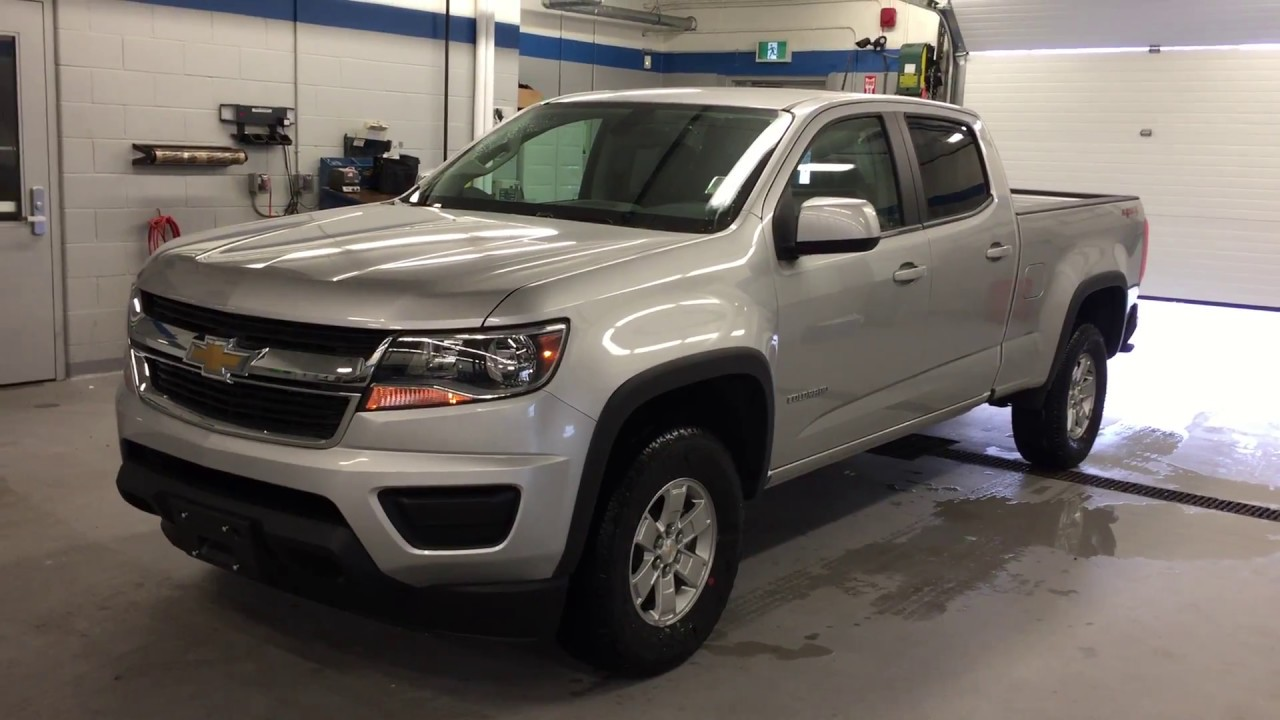 2017 Chevrolet Colorado 4wd Crew Cab Wt Silver Ice Metallic Roy Nichols Motors Courtice On