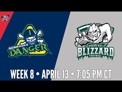 Week 8 | Nebraska Danger at Green Bay Blizzard