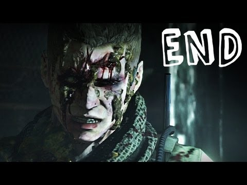 Resident Evil 6 - Chris / Piers Campaign Ending - Gameplay Walkthrough Part 20 (RE6)