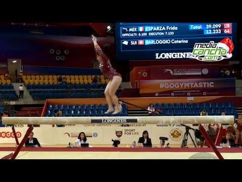 Alexa Moreno gana oro en Japón