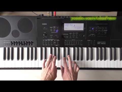 Warren G - This DJ instrumental (piano tutorial & cover)