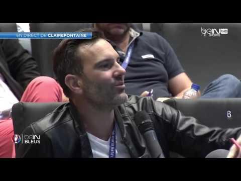 Euro 2016  Demi finale France vs Allemagne  Conférence de presse d'Olivier Giroud