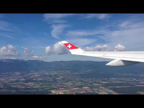 Opstijgen vanaf de luchthaven van Genève - 24 september 2017