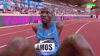 1:42.51 Amel Tuka 1:42.66 Nijel Amos 800m Monaco Herculis 17.07.2015