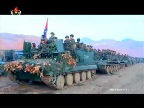 KCTV   North Korea Military Exercises Live Firing 480p