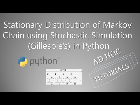 Find Stationary Distribution of Markov Chain using