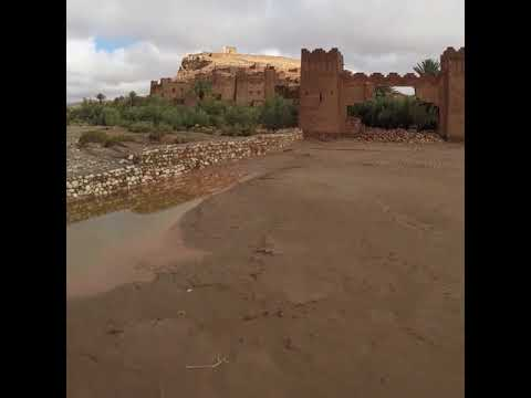 Ait benhaddou kasbah the fortified village in Morocco