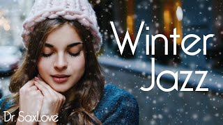 Winter Jazz Music • Soothing and Relaxing Instrumental Saxophone Jazz Music