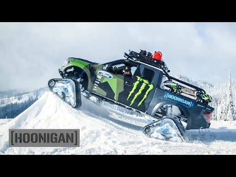 [HOONIGAN] DTT 198: Ken Block's Winter Hoonage