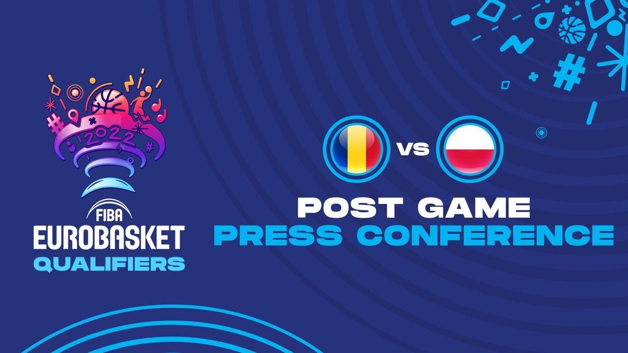 Romania v Poland - Press Conference