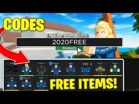 ALL *WORKING* CODES IN ROBLOX ARSENAL 2020!