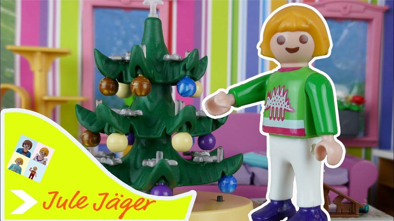 Playmobil Weihnachtsbaum.Playmobil Film Deutsch Probleme Mit Dem Weihnachtsbaum Kinderfilm Mit Jule Jäger