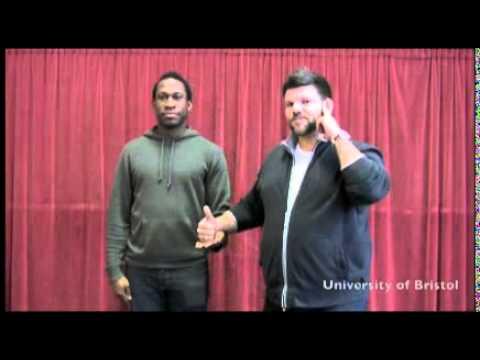 """BSL poem """"Deaf Gay"""" by David Ellington and Richard Carter"""