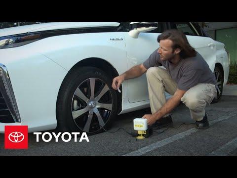 The Toyota Mirai l Tire Repair Kit   Toyota