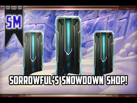 League of Legends: Snowdown Shop Event // Heart of the Cards!
