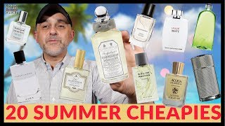 20 Fresh Summer Cheapies Under $75 ($12-$75) | Inexpensive Summer Colognes