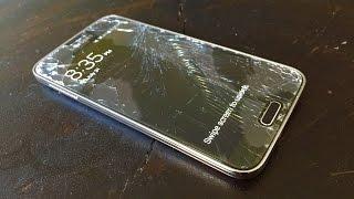 Samsung S5 Glass Screen Protector Drop Test