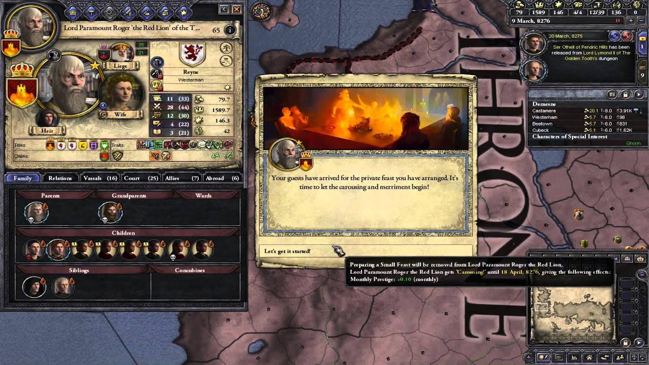 Ck2 game of thrones reynes