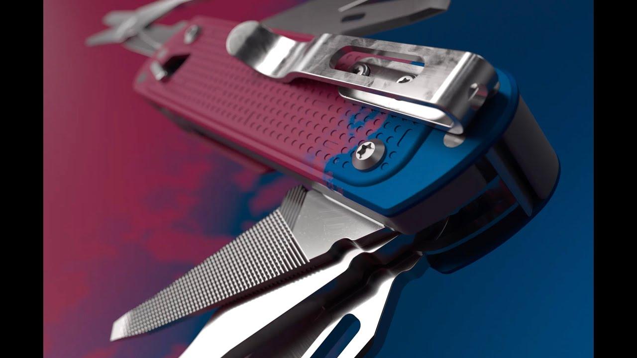 Leatherman Free K4 Pocket Knife Multi Tool Slate 832664 B H