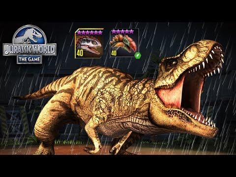 Arena Showcase and Herbivore Hazard - Jurassic World The Game