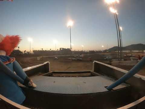 Perris auto speedway figure 8 trailer race