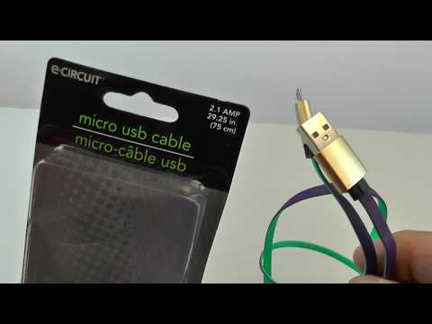 Dollar Store Micro USB Cable REVIEW