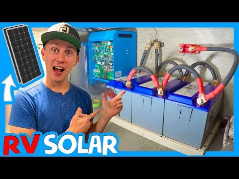 ☀️RV ELECTRICAL & SOLAR UPGRADE WITH ZAMP SOLAR, BATTLE BORN BATTERIES AND CAMPING WORLD 🔌