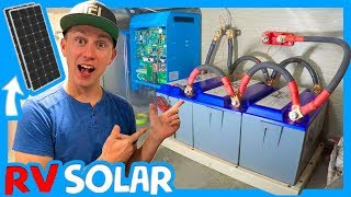 ☀️RV ELECTRICAL & SOLAR UPGRADE WITH ZAMP SOLAR, BATTLE BORN BATTERIES AND CAMPING WORLD