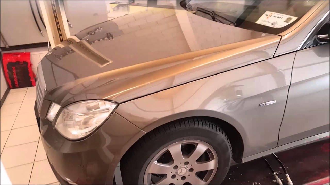 Mercedes w212 automaat spoelen