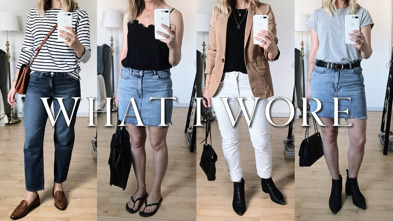 A week of minimal outfits | What I wore this week