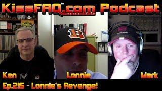 KissFAQ Podcast Ep.215 - Lonnie's Revenge!