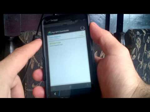 Pep! MP3 Downloader on BlackBerry Z10 (Q5, Q10, Z30) Sneak Peek