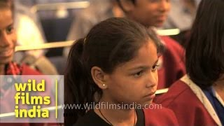 Visually challenged children learn to sing opera at Neemrana Music Foundation