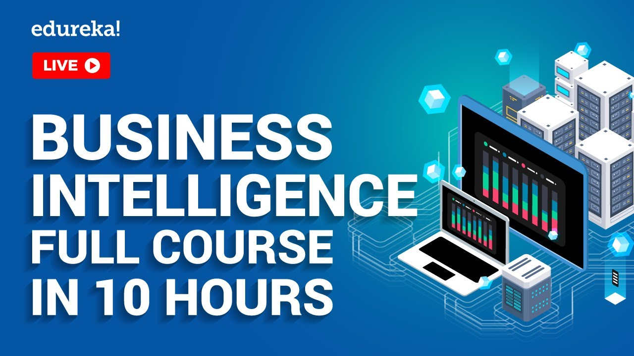 Business Intelligence Full Course in 10 Hours | Power BI Training | Tableau Training