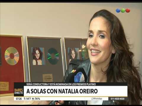 Natalia Oreiro, Conductora Y Nominada A Los Premios Platino - Telefe Noticias