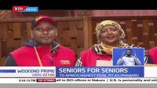 Seniors for Seniors: Seniors begin five day hike on MT. Kilimanjaro to raise 5M to help the elderly