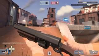 Team Fortress 2- Нуб играет скаутом - Два малыша!