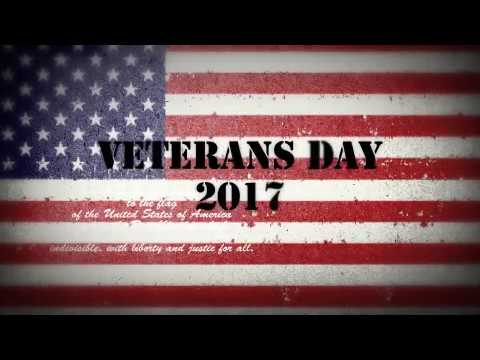 Lemont Park District Veterans Day 2017 Video