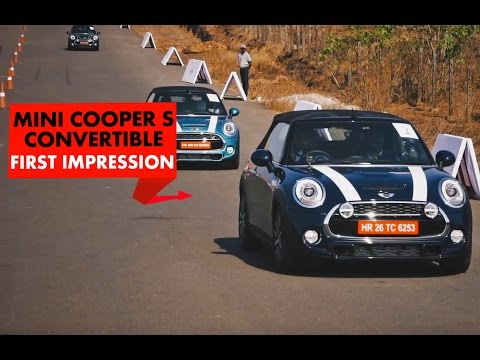 Playicon Mini Cooper S Convertible First Drive Drift