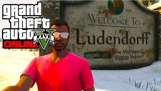 GTA 5 Online: How To Get To North Yankton! Secret Location (GTA V Multiplayer)