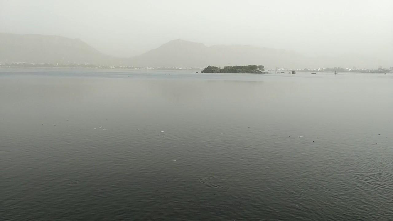 Anasagar Lake Beautiful View Ajmer Rajasthan Tourism Jaane kya Dikh Jaye