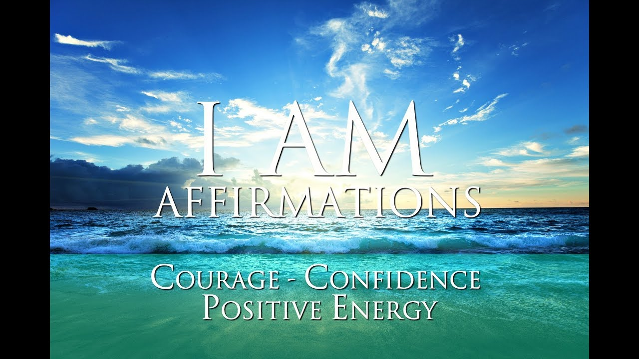 I AM Affirmations ➤ 6 minutes of Courage, Confidence & Positive Energy |  Theta Waves & Tribal Drums