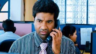 Vennela Kishore, Harish Customer Care Service Comedy Scene - Vennela One And Half Movie Scenes