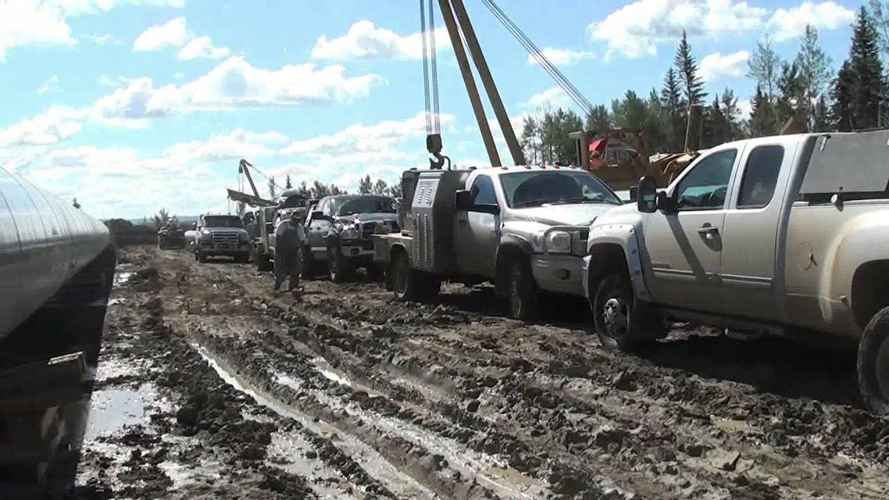 Lifted Trucks For Sale In Texas >> Pipeline Welding - Welding Trucks - Section Work - YouTube