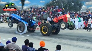 Swaraj 855 vs Sonalika 60 di tractor tochan in Punjab