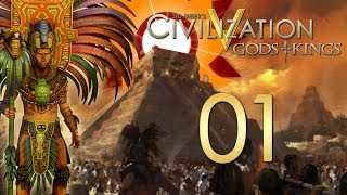 Civilization V: Gods and Kings - The Mayans - Episode 1 ...Lay of the Land...