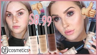 Affordable First Impression Review! 💕 BHCosmetics BH Liquid Foundation